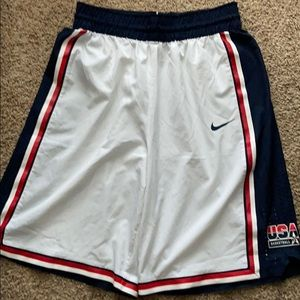 Nike USA basketball elite shorts size XL